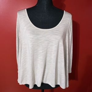 American Eagle Outfitters Criss Cross Back Blouse